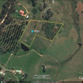 Herbert site aerial view.