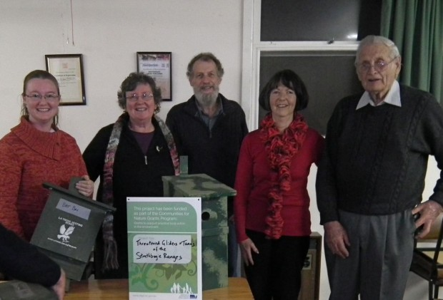 Project Launch at the Whitehead's Creek Landcare 2013 AGM