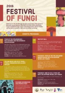 Strathbogie Ranges CMN Fungi Festival Poster