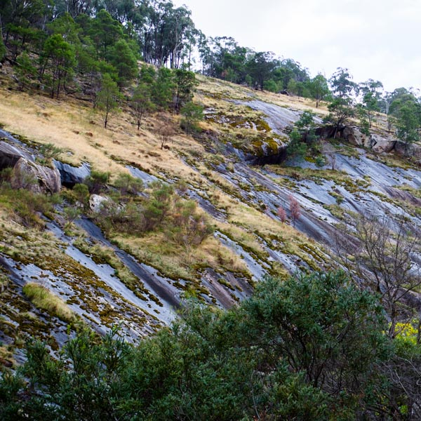 Rocky Outcrop between Polly McQuinns and Gooram Falls