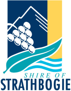 Shire of Strathbogie Logo Spot Color - Space