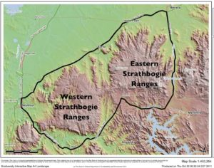 Strathbogie Ranges CMN area