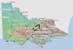 CMN location, Victoria, Australia.