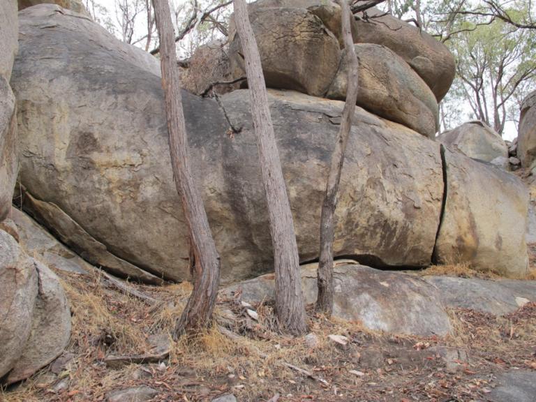 Strathbogie Ranges Rocky Outcrop